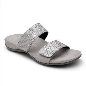 Vionic Soma Gray Slide Sandal Women's Size 7